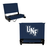 Stadium Chair Navy-Diagonal UNF Monogram