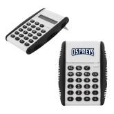 White Flip Cover Calculator-Ospreys Word Mark