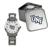 Mens Stainless Steel Fashion Watch-Diagonal UNF Monogram