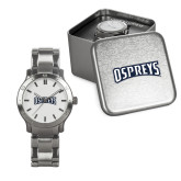Mens Stainless Steel Fashion Watch-Ospreys Word Mark