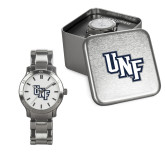 Ladies Stainless Steel Fashion Watch-Diagonal UNF Monogram