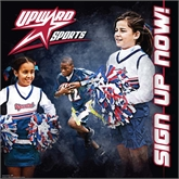 4 x 4 Banner-Flag Football w/ Cheer