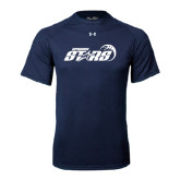 Under Armour Navy Tech Tee-Upward Stars Basketball
