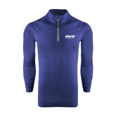 Under Armour Navy Tech 1/4 Zip Performance Shirt-Upward Sports