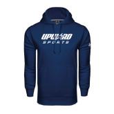 Under Armour Navy Performance Sweats Team Hoodie-Upward Sports