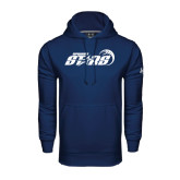 Under Armour Navy Performance Sweats Team Hood-Upward Stars Basketball