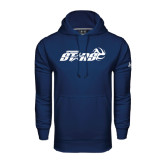 Under Armour Navy Performance Sweats Team Hood-Upward Stars Volleyball