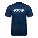 Performance Navy Tee-Upward Sports