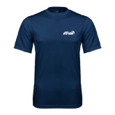 Performance Navy Tee-Upward Stars Basketball
