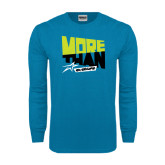 Sapphire Long Sleeve T Shirt-More Than Athlete