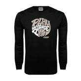 Black Long Sleeve TShirt-Upward Sports Play With Purpose Basketball
