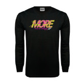 Black Long Sleeve TShirt-More Than an Athlete
