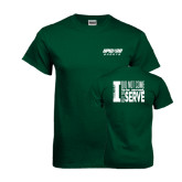 Dark Green T Shirt-Upward Sports