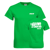 Kelly Green T Shirt-Upward Sports