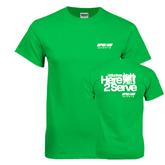 Kelly Green T Shirt-Upward Sports