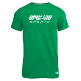 Russell Kelly Green Essential T Shirt-Upward Sports