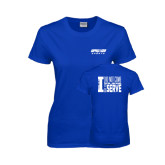 Ladies Royal T Shirt-Upward Sports
