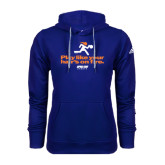 Adidas Climawarm Royal Team Issue Hoodie-Play Like Your Hairs On Fire