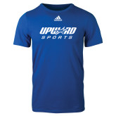 Adidas Royal Logo T Shirt-Upward Sports