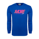 Royal Long Sleeve T Shirt-More Than an Athlete
