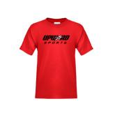 Youth Red T Shirt-Upward Sports