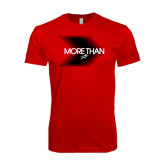 Next Level SoftStyle Red T Shirt-More Than Blury