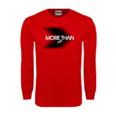 Red Long Sleeve T Shirt-More Than Blury