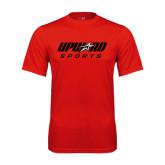 Syntrel Performance Red Tee-Upward Sports