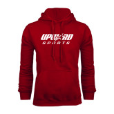 Cardinal Fleece Hood-Upward Sports