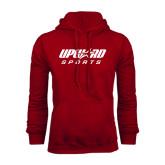Cardinal Fleece Hood-Upward Sports