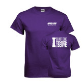 Purple T Shirt-Upward Sports