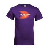 Purple T Shirt-More Than Blury