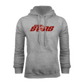 Grey Fleece Hoodie-Upward Stars
