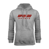 Grey Fleece Hoodie-Upward Sports