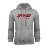 Grey Fleece Hood-Upward Sports