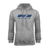 Grey Fleece Hoodie-Upward Sports