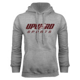 Grey Fleece Hood-Upward Sports
