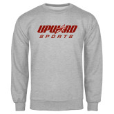 Grey Fleece Crew-Upward Sports