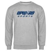 Grey Fleece Crew-Upward Sports