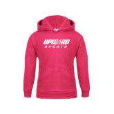 Youth Raspberry Fleece Hoodie-Upward Sports