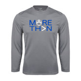 Performance Steel Longsleeve Shirt-More Than Football