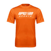 Performance Orange Tee-Upward Sports