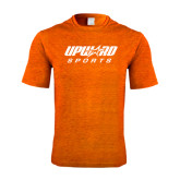 Performance Orange Heather Contender Tee-Upward Sports