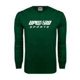 Dark Green Long Sleeve T Shirt-Upward Sports