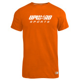 Russell Orange Essential T Shirt-Upward Sports