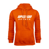 Orange Fleece Hood-Upward Sports