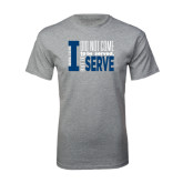 Grey T Shirt-I Serve