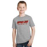 Youth Grey T-Shirt-Upward Sports