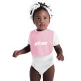 Light Pink Baby Bib-Upward Stars