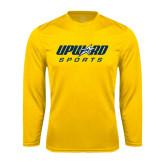 Syntrel Performance Gold Longsleeve Shirt-Upward Sports